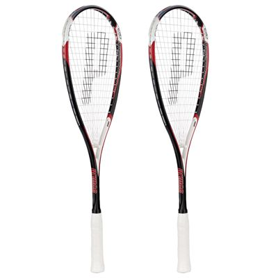 Prince EXO3 Red Squash Racket Double Pack