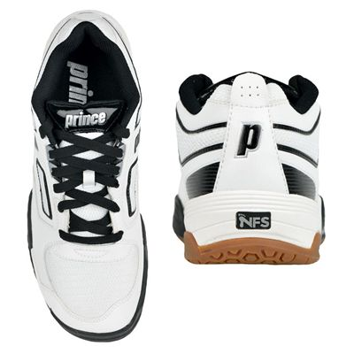 Prince NFS Assault Mens Court Shoes - White/Black