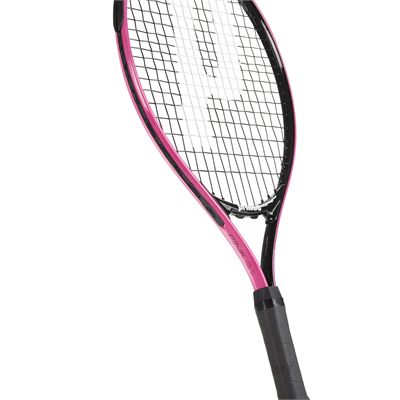 Prince Pink 21 Junior Tennis Racket - Zoomed