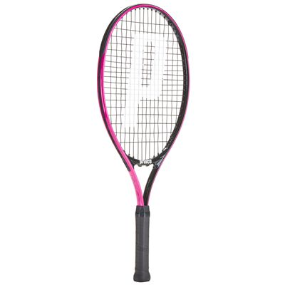 Prince Pink 23 Junior Tennis Racket - Angled