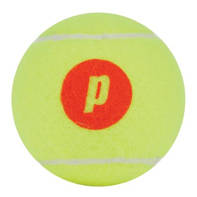 Prince Play and Stay Stage 2 Orange Dot Mini Tennis Balls - 12 Pack - Ball