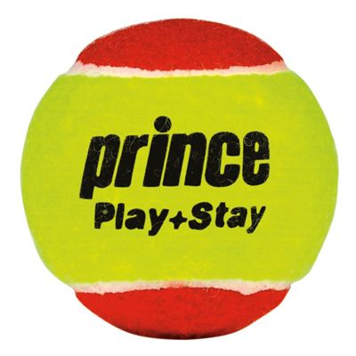 Prince Play and Stay Stage 3 Red Felt Mini Tennis Balls - 12 Pack - Ball