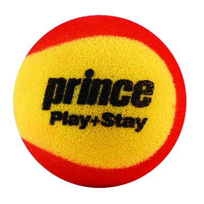 Prince Play and Stay Stage 3 Red Foam Mini Tennis Balls - 12 Pack