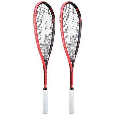 Prince Pro Airstick 550 Lite Squash Racket Double Pack-Angled