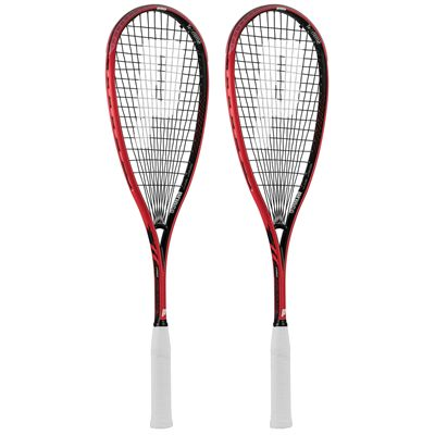 Prince Pro Airstick Lite 550 Squash Racket Double Pack AW17