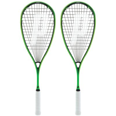 Prince Pro Beast 750 PowerBite Squash Racket Double Pack
