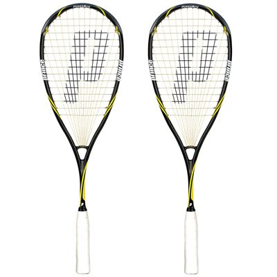Prince Pro Beast PowerBite 750 Squash Racket Double Pack