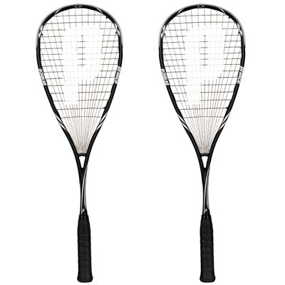 Prince Pro Black SP 850 Squash Racket Double Pack
