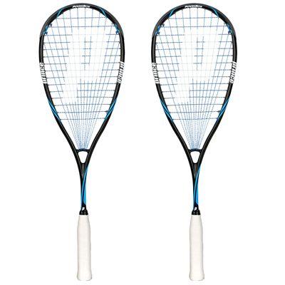 Prince Pro Shark PowerBite 650 Squash Racket Double Pack
