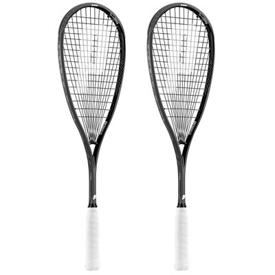 Prince Pro Warrior 650 Squash Racket Double Pack