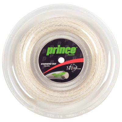 Prince Synthetic Gut with Duraflex Tennis String - 100m Reel - White