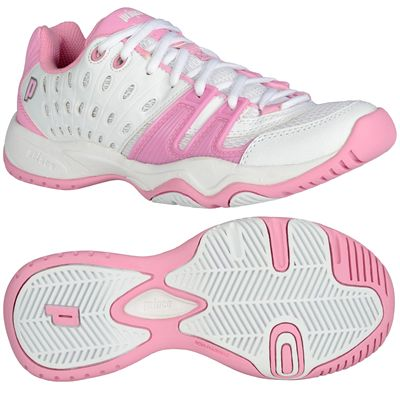 Prince T22 Girls Junior Tennis Shoes - Main Image