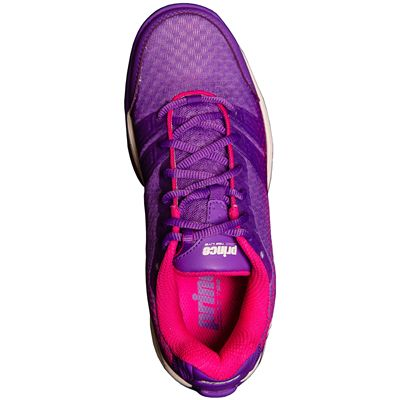 Prince T22 Lite Ladies Tennis Shoes-Purple and Pink-Top