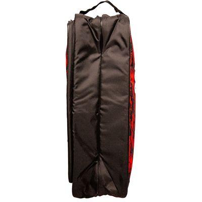 Prince Team 6 Pack Racket Bag-Black and Red-Bottom