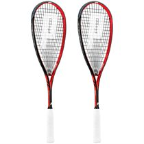 Prince Team Airstick 500 Squash Racket Double Pack