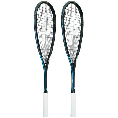 Prince Team Airstick 500 Squash Racket Double Pack SS16-Angled
