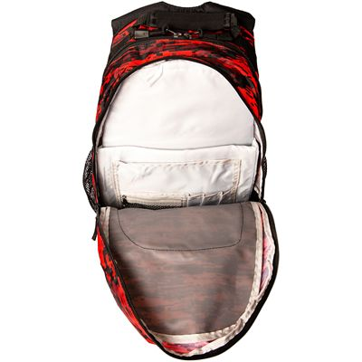 Prince Team Backpack-Black and Red-Inside