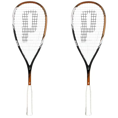 Prince Team Cobra 300 Squash Racket Double Pack