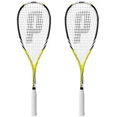 Prince Team Combat 300 Squash Racket Double Pack