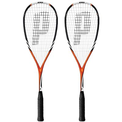 Prince Team Impact 200 Squash Racket  Double Pack Image