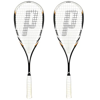 Prince Team Peter Nicol Pro 700 Squash Racket Double Pack
