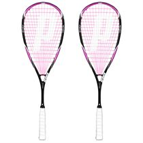 Prince Team Pink 700 Squash Racket Double Pack
