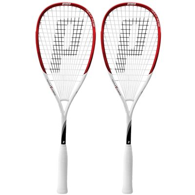 Prince Team Rage 350 Squash Racket Double Pack
