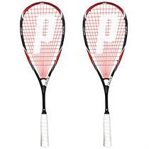 Prince Team Red 700 Squash Racket Double Pack