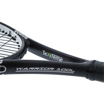 Prince TeXtreme Warrior 100L Tennis Racket - Throat Side A