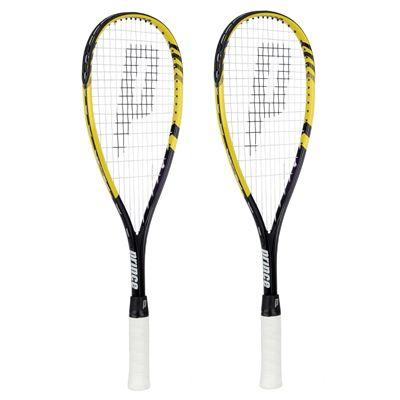 Prince TF Rebel 23 Junior Squash Racket Double Pack