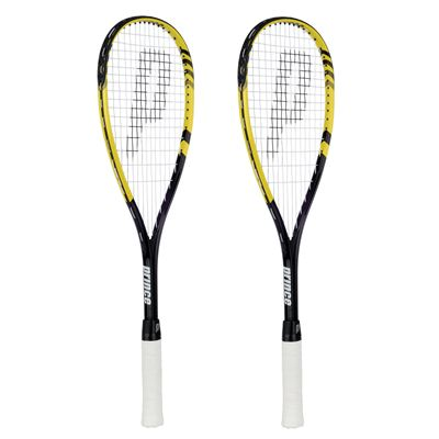 Prince TF Rebel 25 Junior Squash Racket Double Pack