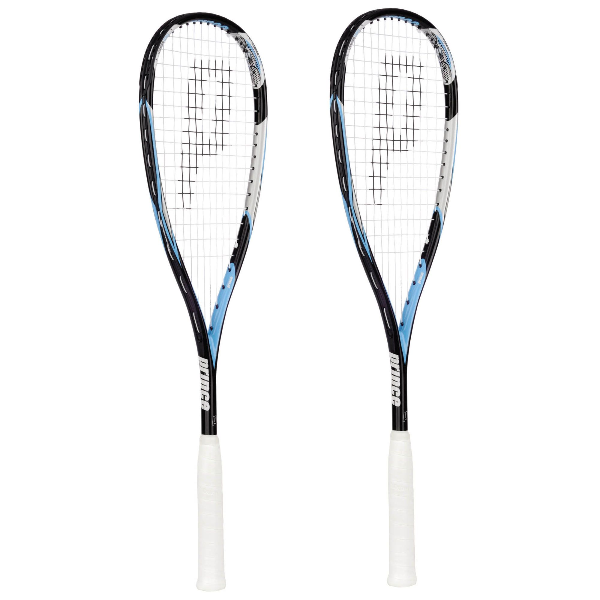Prince TF Thunder Fusion Squash Racket Double Pack