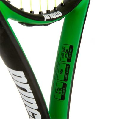Prince Thunder Beast 100 Tennis Racket - Details View