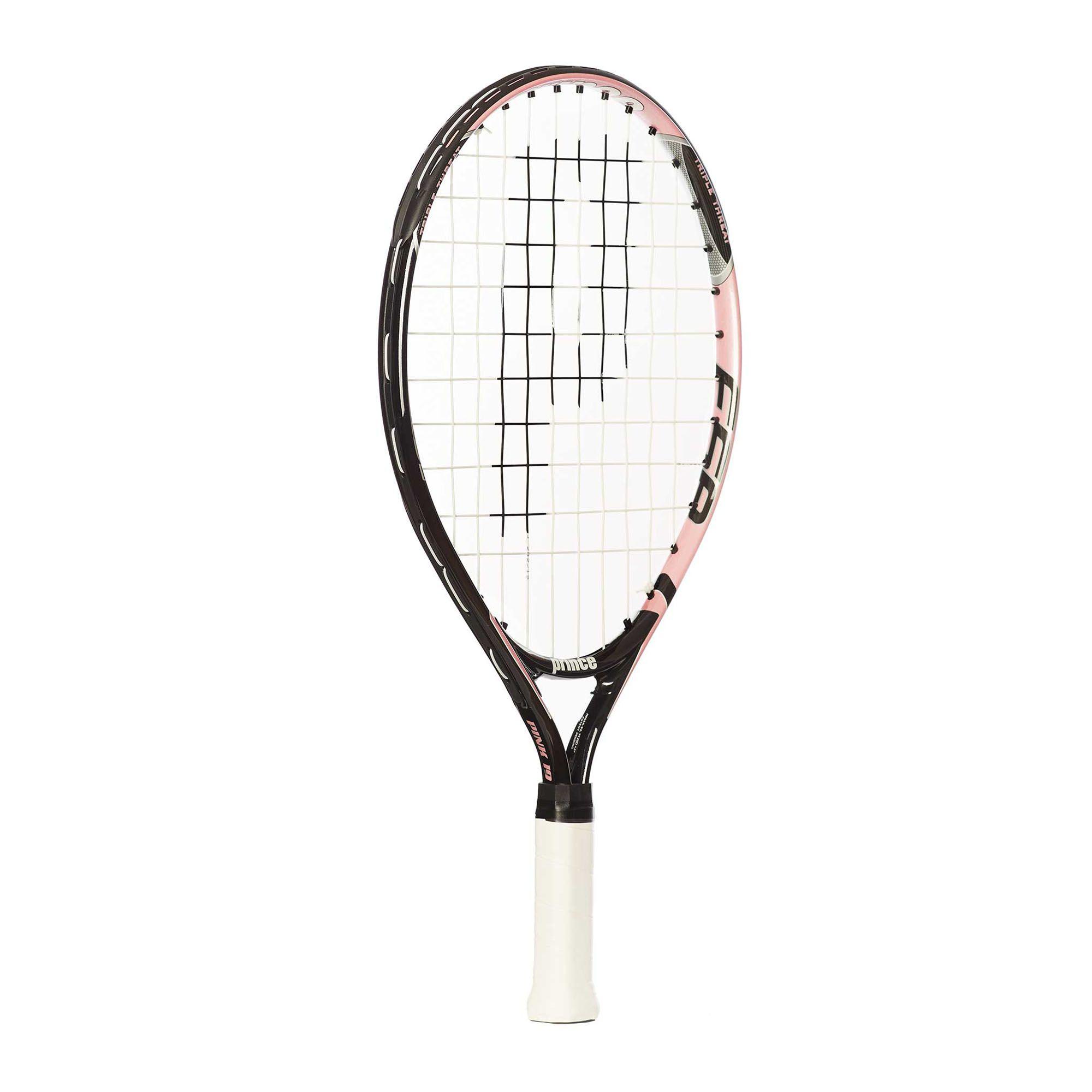 Prince Titanium Pink 19 Junior Tennis Racket - Sweatband.com
