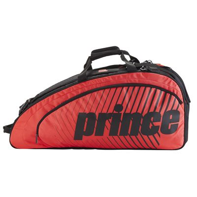 Prince Tour Futures 6 Racket Bag - Red - Side