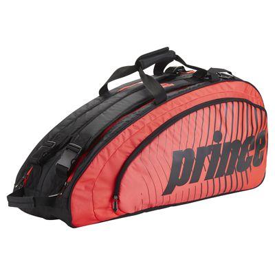 Prince Tour Futures 6 Racket Bag - Red - Slant