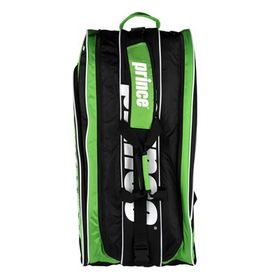 Prince Tour Team 12 Racket Bag - Black/Green - Top