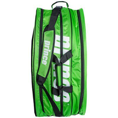 Prince Tour Team 12 Pack Racket Bag-Green-Black-Top