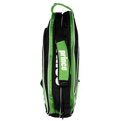 Prince Tour Team 6 Racket Bag - Black/Green Top