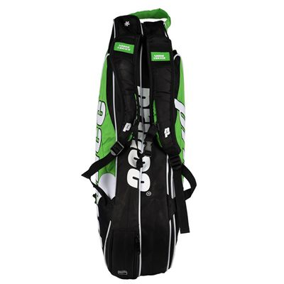Prince Tour Team 6 Racket Bag - Black/Green