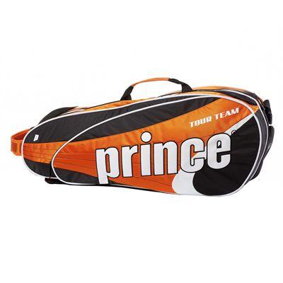 Prince Tour Team 6 Racket Bag - Black/Orange