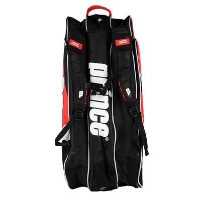 Prince Tour Team 9 Racket Bag - Black/White/Red - Bottom
