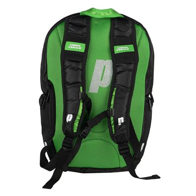 Prince Tour Team Backpack - Green/White - Back