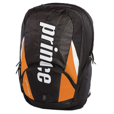 Prince Tour Team  Backpack - Black/Oranbe