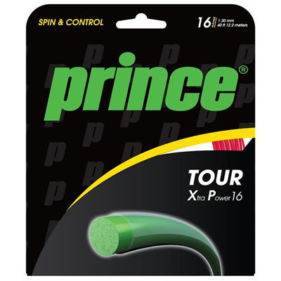 Prince Tour XP Tennis String Set - Red 1.30mm