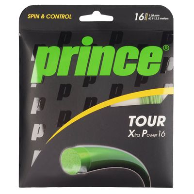 Prince Tour XP Tennis String Set - Green 1.30mm