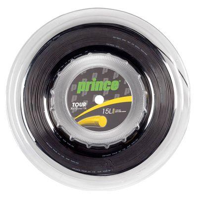Prince Tour Xtra Control Tennis String - 200m Reel - Black 1.35