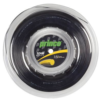 Prince Tour Xtra Control Tennis String - 200m Reel - Black 1.4