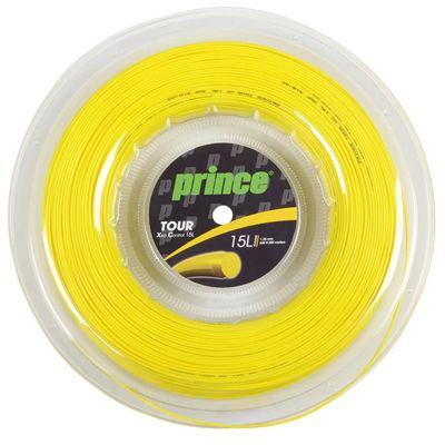 Prince Tour Xtra Control Tennis String - 200m Reel - Yellow 1.35