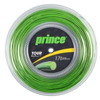 Prince Tour Xtra Power Tennis String - 200m Reel - Green